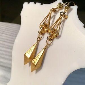 ❇️Vintage Gold Vermeil Earrings